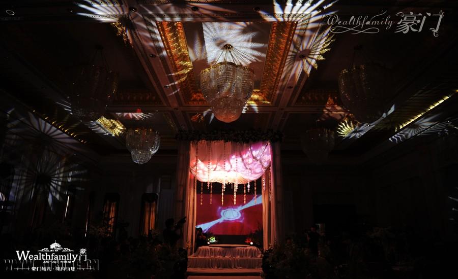 天空之城主题婚礼 东郊国宾馆,一场 世纪 婚礼